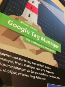 Cover Google Tag Manager Buch